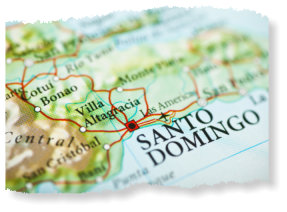 Santo Domingo in Dominican Republic